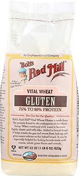 Bob/'s Red Mill Vital Wheat Gluten 75/% to 80/% Protein 22 oz Pkg
