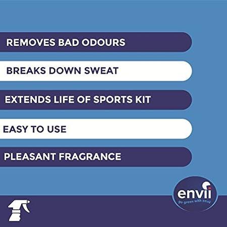 Envii Kit Fresh – Eliminador de Olores Probiótico Para Equipaciones Deportivas – Desodorante de Zapatos en Spray – Neutralizador & Limpiador de Olores ...