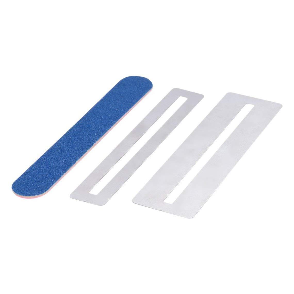 Guitar Fret Repairing Tool Set Fretboard Guard ProtectIve Shim /& Fretwire File