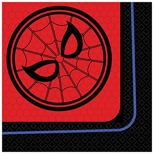 Spiderman - Far From Home Beverage Napkins, 16 per oack