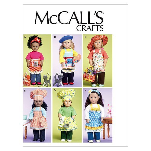 46cm One Size Only Towel and Cat Doll Clothes McCall Patterns M6451 18 Bag