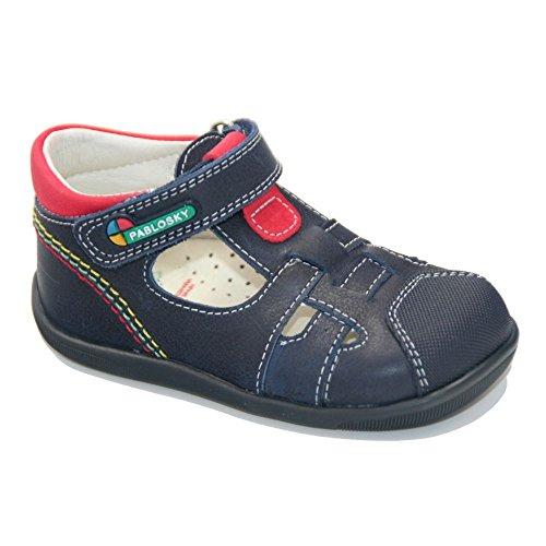 Pablosky , {Chaussures premiers pas pour bébé (garçon) bleu bleu