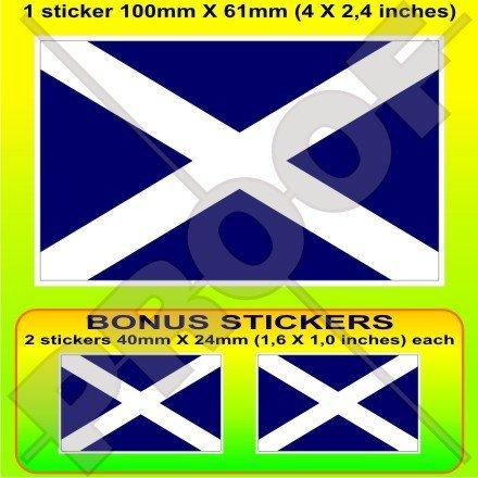 (SCOTLAND Scottish Flag UK St Andrew's Cross, Saltire 4