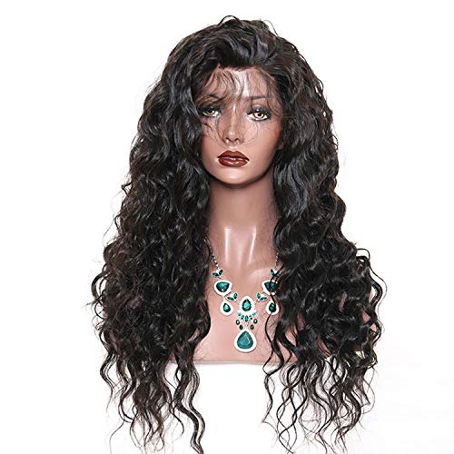 Silk Base Loose Wave Full Lace Human Hair Wigs Pre Plucked Hairline Brazilian Remy Frontal Hair Wig With Baby Hair Peony red,16inches,180%
