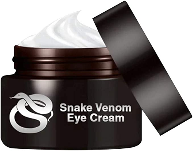 Amazon.com: Snake Venom Eye Cream, Natural and Organic Anti Aging Bags,Puffiness & dark circle, Smoothing Firming Eye Cream, Deep penetration, Nourish Wrinkle Puffiness Fine Lines: Home Improvement