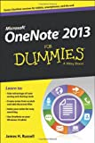 Onenote 2013 for Dummies, James H. Russell, 1118550560
