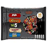 HERSHEY'S Halloween Scare 'n' Share Assortment (22.7-Ounce Bag, 50 Pieces)
