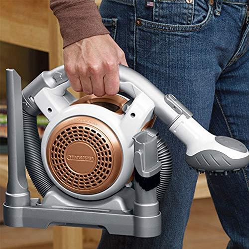 Black and Decker Flex Vac Cordless Mini Canister Vacuum (Renewed) (Fuller Brush Mini Maid Handheld Vacuum With Tools)
