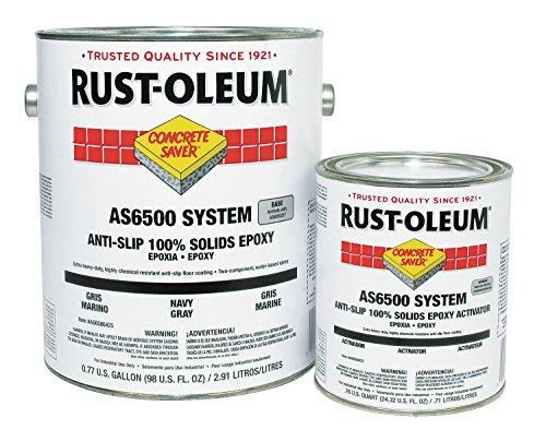AS6500 Anti-Slip Epoxy Kit, Navy Gray by Rust-Oleum