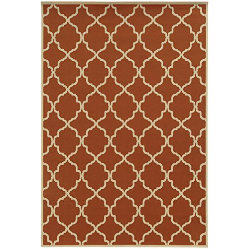 Oriental Weavers 4770D Riviera Collection Area Rug, 7'10 x 10'10