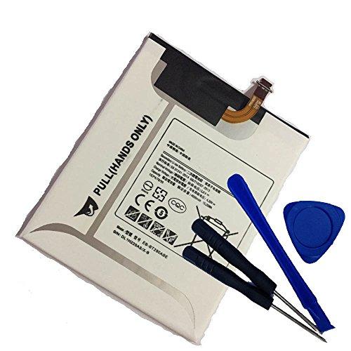 Powerforlaptop Tablet Replace Battery + Repair tools For Samsung SM-T280 SM-T285 SM-T287 SM-T280N 8GB Wi-Fi 7'' Galaxy Tab E 7.0 2016 4G LTE EB-BT280ABA EB-BT280ABE GH43-04588A by powerforlaptop