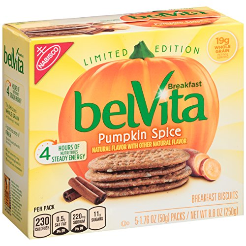 Belvita Seasonal Breakfast Biscuit, Pumpkin Spice
