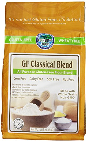 Authentic Foods GF Classical Blend 3lb 2 Pack