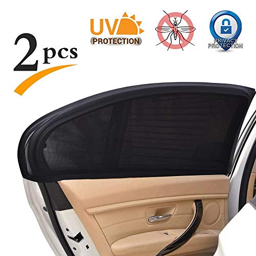 Car Window Shade,Breathable Mesh Car Rear Side Window Shade,Car Care Windshield Sun Shade,Cover Full Windows Protect Kids Pet from The - Side Cover Rear