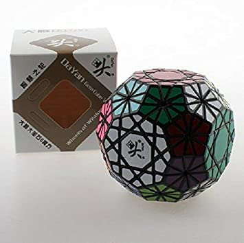 DaYan Gem Cube VI Puzzle Game Black Brain Teaser Toy Present for Kids US .HN