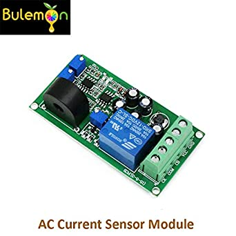 3pcs/lot AC Current Sensor Module Switch Output DC24V AC 0-10A Full Range of Linear Detector: Amazon.com: Industrial & Scientific