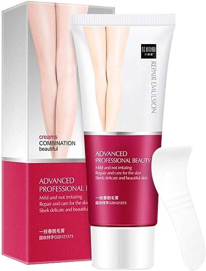 Handfly Hair Removal Cream Crema depilatoria suave y no irritante para depilación rápida para todo el cuerpo: Amazon.es: Belleza