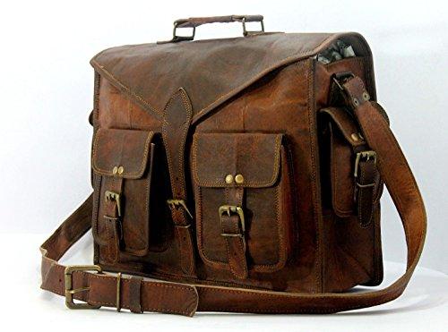 handolederco  hnd nd1, Borsa Messenger  marrone brown