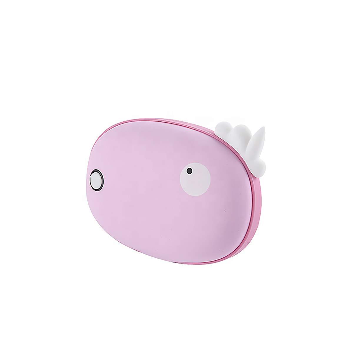 USB Mobile 5V Power Charging Schatz Mini Hand Wärmer 5000 Mah Lithium-Akku, Mit 2 Temperatureinstellung Persönliche Elektrische Heizung,lila