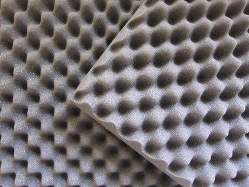 Espuma Acústica Anti-Chamas 500mm x 500mm x 20 mm