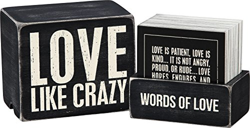 Primitives by Kathy Words of Wisdom Keepsake Love Quote Box