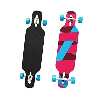 Aniseed Skateboards Longboards Drop Through Downhill/Cruiser Freeride Complete Longboard 42 Inch Rendering : Sports & Outdoors