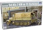 Trumpeter German Sdkfz 7 8-Ton Halftrack Late Version (1/35 Scale) from Stevens International