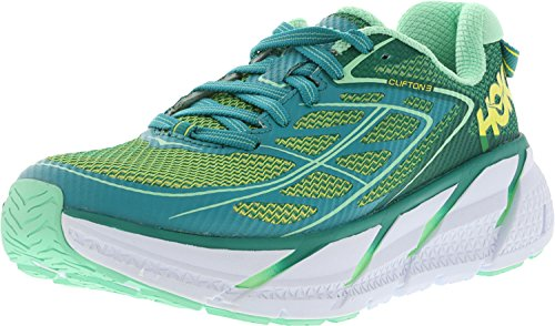 HOKA ONE ONE Men's Clifton 3 Shoe (10.0, Midnight Navy/Gold)