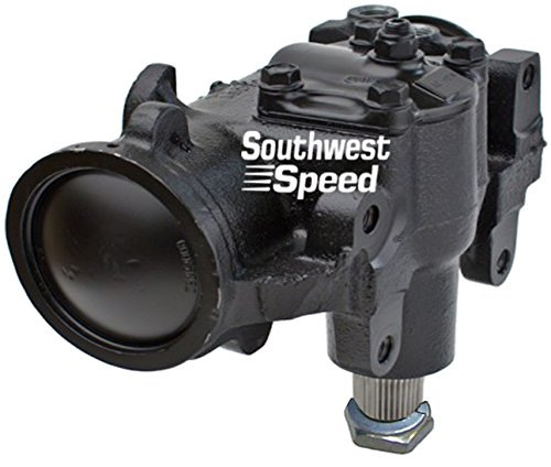 NEW SOUTHWEST SPEED JEEP REPLACEMENT POWER STEERING GEAR BOX WITH 20:1 RATIO FOR 76-86 JEEP CJ5 CJ7, HEAVY-DUTY GEARS, BUILT-TOUGH, 1976 1977 1978 1979 1980 1981 1982 1983 1984 1985 1986