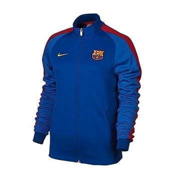 Chaqueta Mujer Nike Fcb Trk Azul Jkt N98 W Fc Nsw Barcelona Aut fvqOwf0r