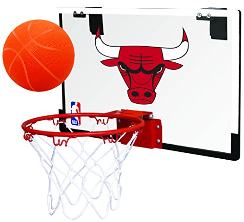 Rawlings NBA Chicago Bulls 00664198111NBA Game On Polycarbonate Hoop Set (All Team Options), Red, Youth