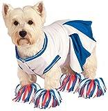 Rubie's Deluxe Cheerleader Pet Costume, X-Large