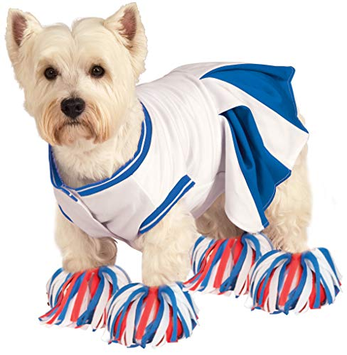 Rubie's Deluxe Cheerleader Pet Costume, Small ()