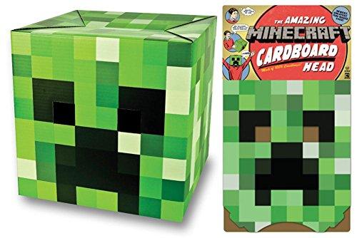 [Minecraft Creeper Head] (Skeleton Minecraft Costume)