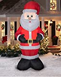 Airblown Inflatable Santa Claus in Santa Suit and