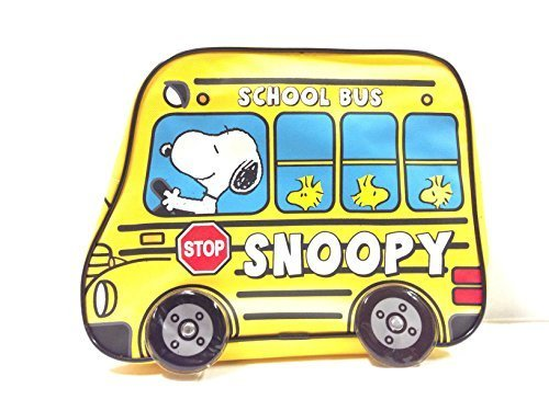 2015 Snoopy School Bus 12' Toddler Backpack