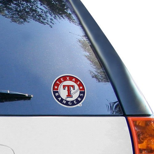 Rico MLB Rangers - TX Medium Die Cut Decal, 9