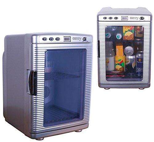 Camping mini Kühlschrank 20 Liter Minibar,Kühlbox,Getränkekühlschrank, 240/12 Volt Nutzbar 20° unter Umgebungstemperatur Wärmefunktion bis zu 60°