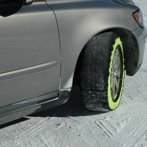 Pair GripSock Car Snow Ice Sock Chains Tyre 205 / 55 R16 Fantastic Grip on Snow Bottari