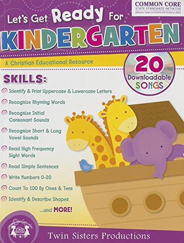 Let's Get Ready for Kindergarten Christian Bind-Up Workbook (Let's Get Ready Learning Workbooks)
