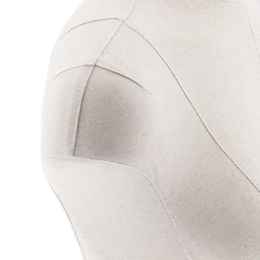 IPOTCH Esposizione Del Reggiseno Dellabbigliamento Di Forma Del Vestito Del Busto Del Manichino Del Mezzo Busto Del Mezzo Femminile