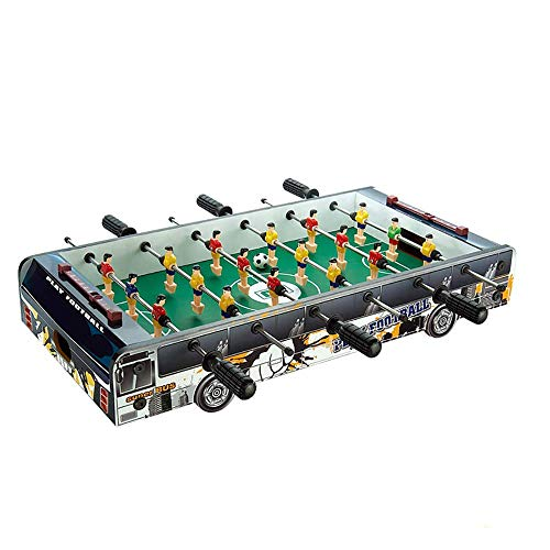 Table Soccer Foosballs/Tabletop Foosball,Deluxe Mini,Table Top Football,Foosball Family,Fun Gam,Suitable for People Over Three Years Old,Black