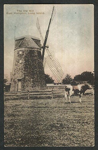 The Old Mill East Hampton Long Island NY postcard 1920s (Postcard Island)