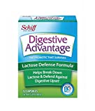 Schiff Digestive Advantage Lactose Defense – Breaks down lactose to defend against digestive upset, 32 Capsules (Pack of 6)