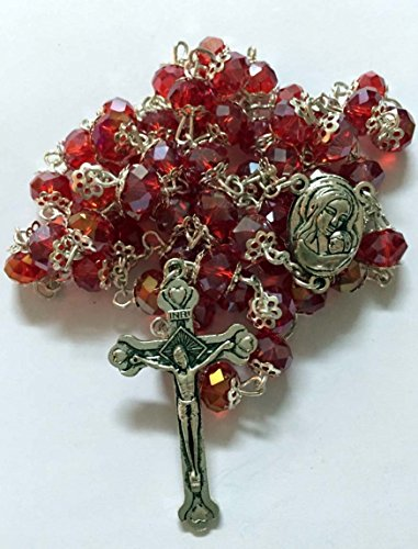 Crystal Rosary Crucifix - 1