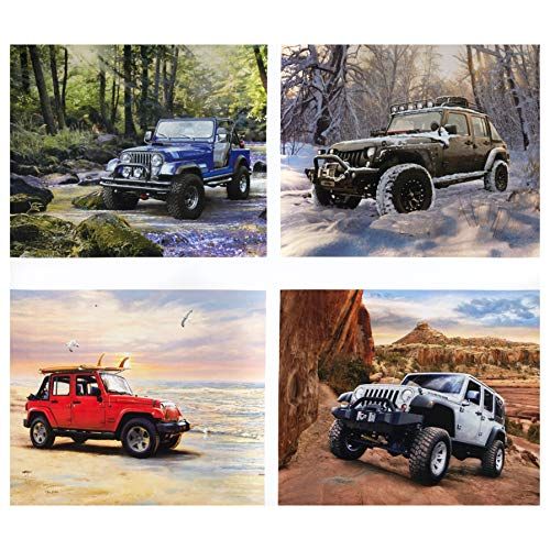 Riley Blake Designs Lisc Collections-Jeep In The Wild 36'' Panel Fabric, Pillow