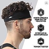Mens Headband - Sports Running Sweat Head Bands