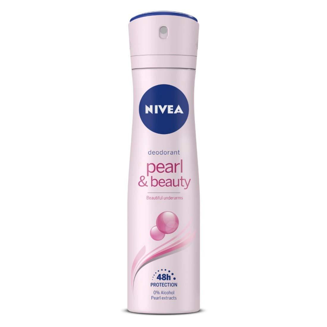 NIVEA Deodorant, Pearl & Beauty, 150ml