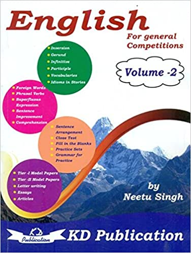 Buy English Volume-2 For General Competitions Book Online at Low
