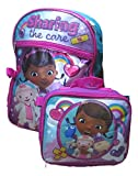 Doc McStuffins Backpack with Detachable Lunch Bag 2pc Set